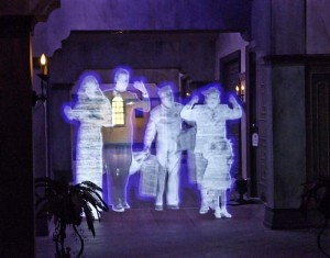 Ghostly goings on at the Twilight Zone Tower of Terror