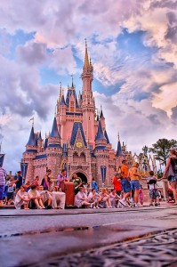 One of my favorite photos of Cinderella's Castle